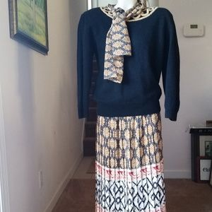 Andrea Gayle Sweater/Skirt Set